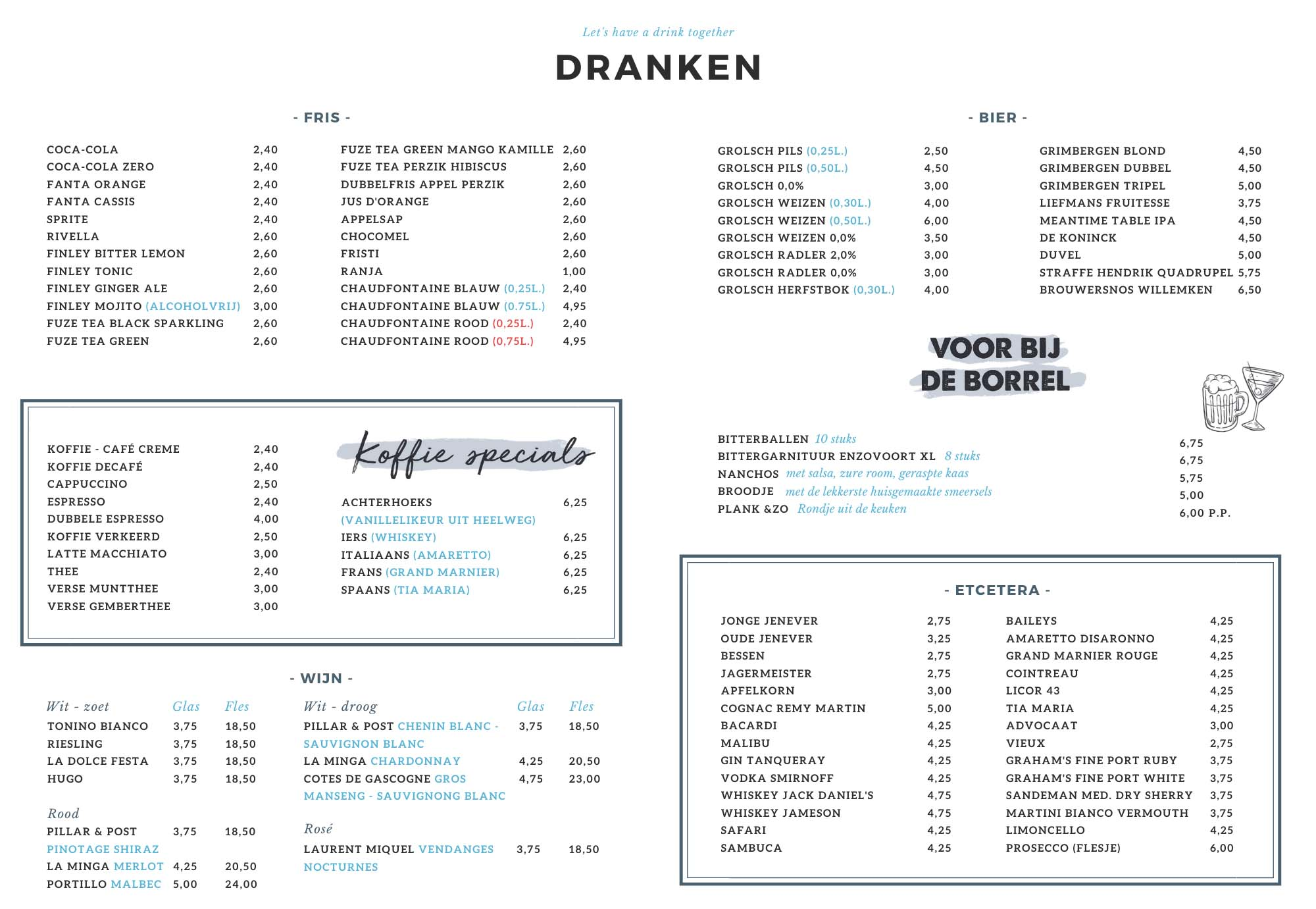 Enzovoort-Varsseveld-restaurant-drankenkaart